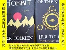 二手書博民逛書店the罕見hobbit & the fellowship of