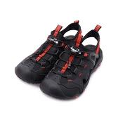 DIADORA 束繩護趾運動涼鞋 黑紅 DA71199 男鞋