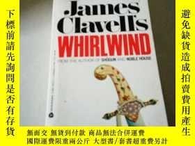 二手書博民逛書店James罕見Clavell s:WHIRLWIND(英文,書前
