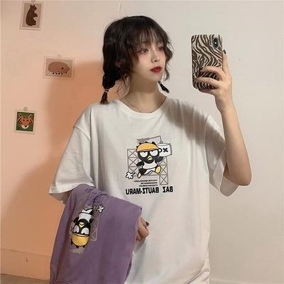 (下殺)彈性棉市場價短袖T恤印花【08SG06616】