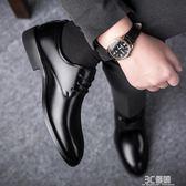 皮鞋 皮鞋男春季英倫潮流男士休閒鞋商務上班鞋子韓版青年百搭男鞋 3C優購