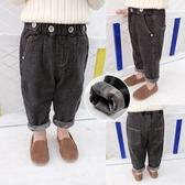 男童牛仔褲 正韓兒童內刷毛牛仔長褲