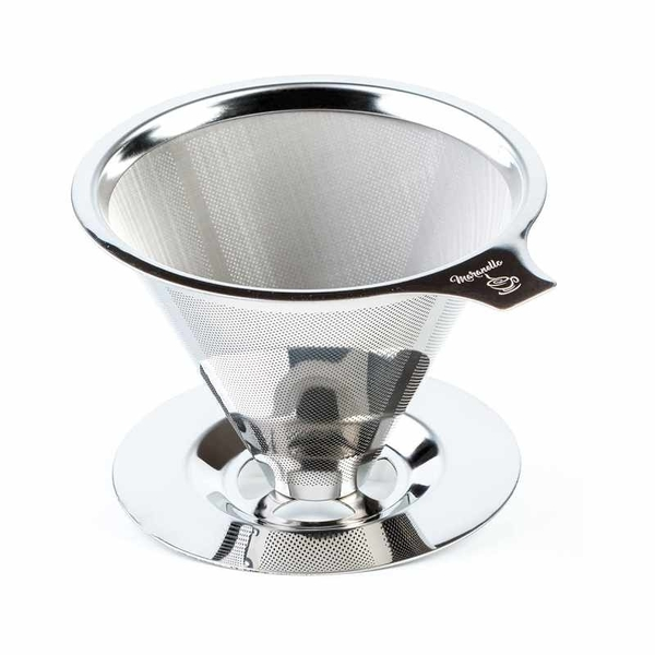 Maranello 不銹鋼咖啡濾網 Pour Over Coffee Dripper Stainless Steel Reusable [2美國直購]