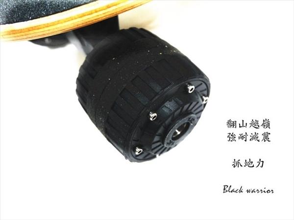 黑武士Black warrior雙驅高速電動滑板 街頭滑板