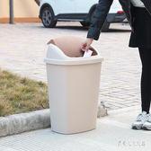 大號垃圾筒塑料垃圾桶辦公室酒店商用環衛無蓋有蓋廚房工業垃圾桶 yu5873『俏美人大尺碼』