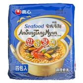 韓國 農心 安城湯麵-海鮮味(112g*4)【庫奇小舖】
