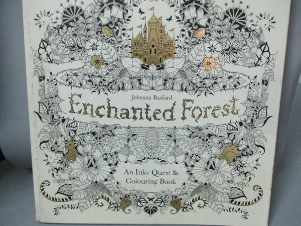 【書寶二手書T3/藝術_YAL】Enchanted Forest_Johanna Basford