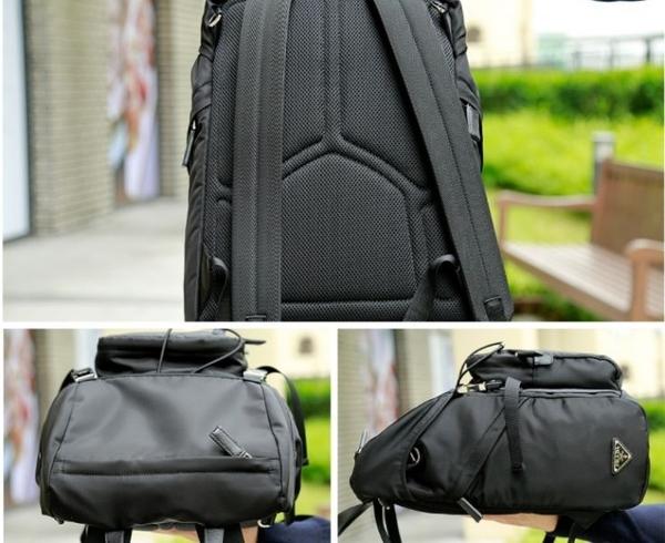 ■專櫃66折■ 全新真品■Prada 男款2VZ135 經典後背包