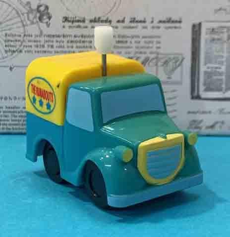 【震撼精品百貨】發條玩具-大卡車-藍#64206