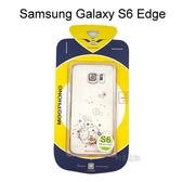 優雅系列電鍍邊框透明殼 [煙花] Samsung G9250 Galaxy S6 Edge