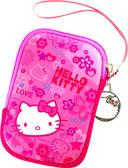 Hello Kitty  SKS-210  彈力膠數碼防護袋KT-繽紛紅