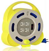 《鉦泰生活館》1開4插3P輕巧型家庭輪座11A8M (BS-909A-8M)
