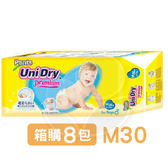 Unidry 優力褲 褲型紙尿褲-男生款(M30片)箱購8包【佳兒園婦幼館】