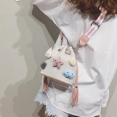 包包女包新款潮夏天小清新可愛帆布單肩斜挎包流行的網紅小包 完美計畫