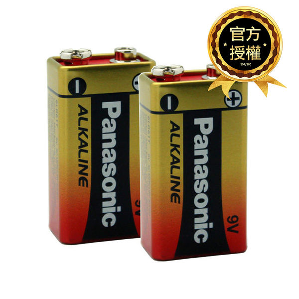國際牌Panasonic 9V ALKALINE鹼性電池 1入