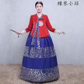 韓服古裝女朝鮮民族舞蹈演出服裝