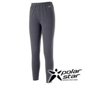 PolarStar 女 排汗保暖長褲『灰』P15402