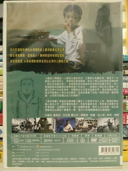挖寶二手片-Y51-008-正版DVD-華語【第四張畫】-戴立忍 郝蕾 畢曉海 金士傑 納豆 關穎