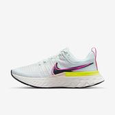 Nike React Infinity Run Fk 2 [DJ5396-100] 女鞋 慢跑鞋 運動 輕量 彈力 白粉