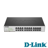 D-Link DGS-1100-24 Layer 2 Gigabit 簡易網管型交換器 24埠