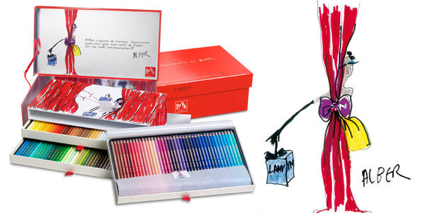 CARAN d''ache 卡達LANVIN-20週年紀念限量款專家級水溶性色鉛筆120色