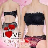 性感內衣 情趣用品 情趣睡衣 可調式背扣平口蕾絲含胸墊小可愛內衣﹝黑﹞