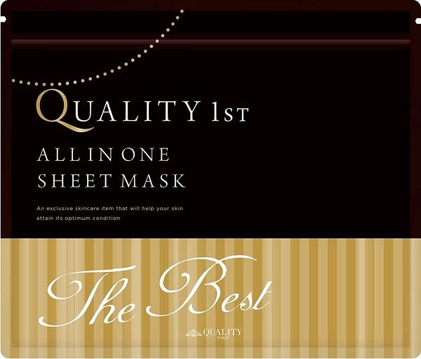 Quality 1st    All in one THE BEST超高濃度保濕面膜   推薦給在意肌齡的您