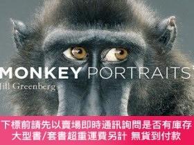 二手書博民逛書店Monkey罕見Portraits-猴子肖像Y364727 Jill Greenberg (E... Litt
