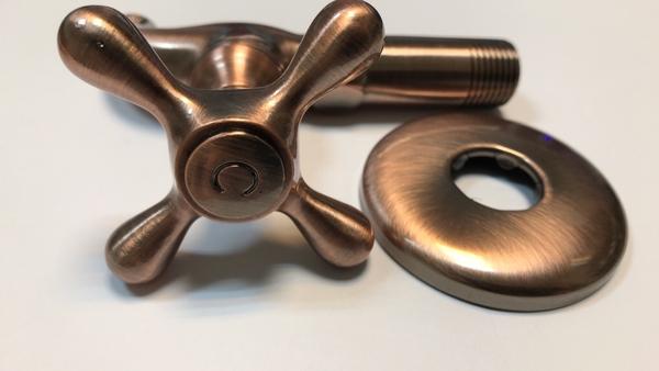 紅古銅陶瓷長栓 水龍頭 4分 1/2 復古 工業風  古典陶瓷長栓(紅古沙線)27-5515