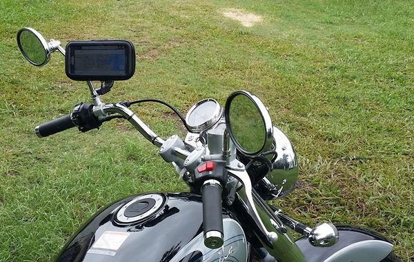 sym kymco yamaha pgo vespa機車手機架機車環島摩托車導航架自行車機車導航單車環島摩托車手機支架