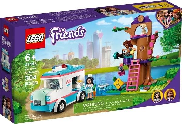 樂高LEGO FRIENDS 獸醫診所救護車 41445 TOYeGO 玩具e哥