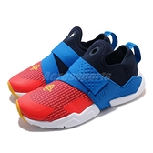 Nike 休閒鞋 Huarache Extreme Now GS 藍 紅 女鞋 大童鞋 武士鞋【ACS】 BQ7568-400