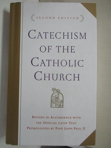 【書寶二手書T1/宗教_C9W】Catechism of the…-With Modifica..._Catholic Church