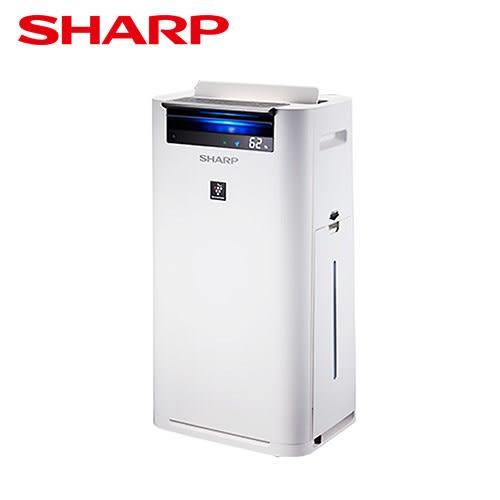 【SHARP夏普】水活力自動除菌離子空氣清淨機 KC-JH50T-W