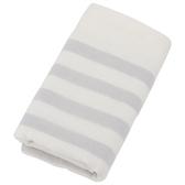 純棉紗布毛巾 BORDER LGY 34×80 NITORI宜得利家居
