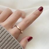 特賣戒指莫比烏斯chic戒指女日韓個性潮人學生網紅冷淡風關節指環
