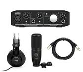 【音響世界】Mackie Onyx Artist零延遲專業錄音介面《高CP值組合》含 P120電容Mic/ K52耳機