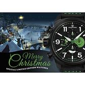 聖誕限定 elegantsis 特別限定版計時手錶-45.5mm ELJT48MQS-OG01LC