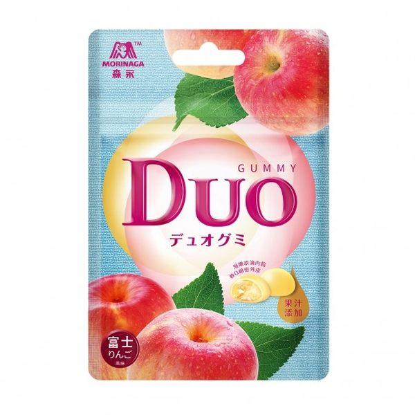 森永Duo嘟歐雙層QQ軟糖(富士蘋果風味)40g/包【合迷雅好物超級商城】