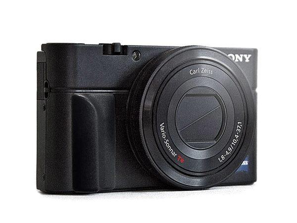 又敗家Flipbac類單眼相機握把貼Grip索尼RX100 II III IV佳能EOS-M輕單手把貼M10微單握把貼M3類單眼把手貼