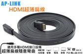 【3C生活家】HDMI 1.4版 螢幕線 扁線 50公分 720度 1080P 4Kx2K 隨意扭曲線乙太網路