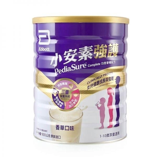 亞培 小安素強護均衡營養配方1600g(香草口味) X 1罐 1199元(限超取3罐)