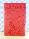【震撼精品百貨】Hello Kitty 凱蒂貓~kitty證件套-紅電話