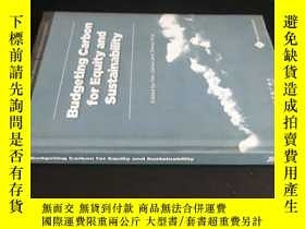 二手書博民逛書店Budgeting罕見Carbon for Equity and