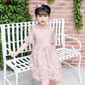 小女孩春夏裝連身裙蕾絲裙子