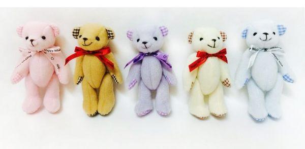 娃娃屋樂園~格子.小熊玩偶 每隻40元/婚禮小物/熊熊玩偶/送客禮