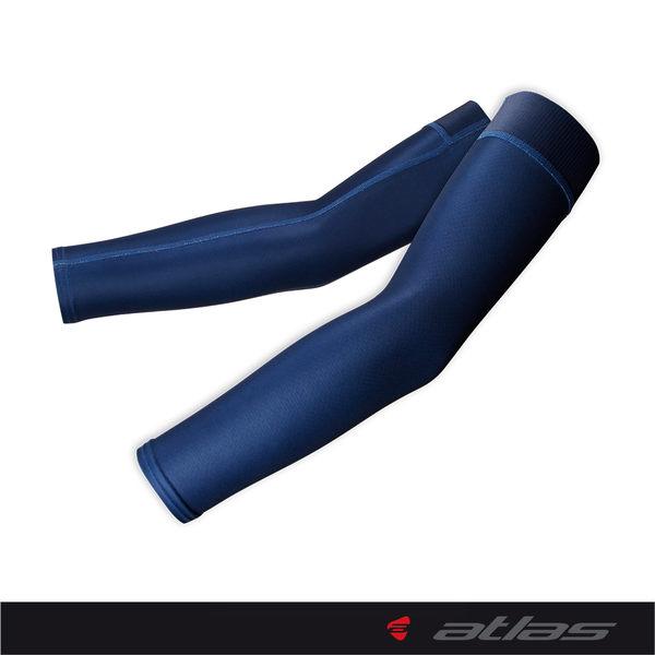 【亞特力士ATLAS】男女袖套 AA-503-N(波卡點點-海軍藍)