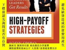 二手書博民逛書店High-payoff罕見Strategies: How Education Leaders Get Result