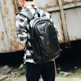 韓版後背包 男雙肩包 可放14吋筆電《印象精品》y1019