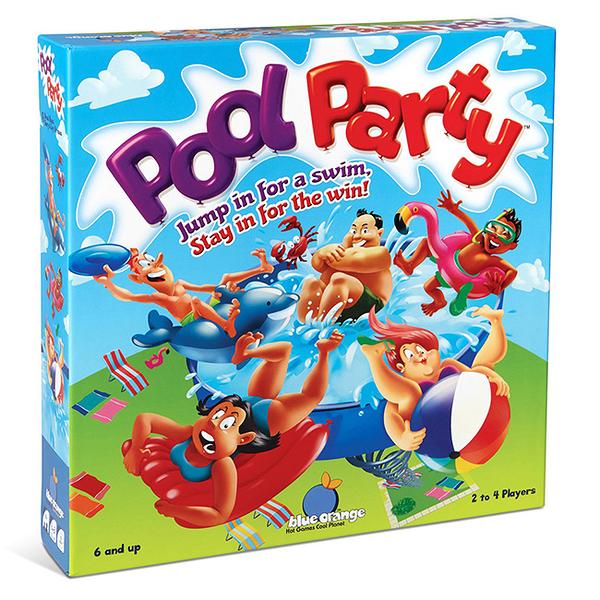 【樂桌遊】G派對桌遊-泳池派對 Pool Party(繁中) PPY01CNTS/GO00057